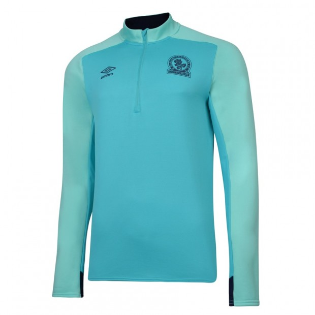 Rovers 18/19 Adult Training Half Zip Top (Ceramic)