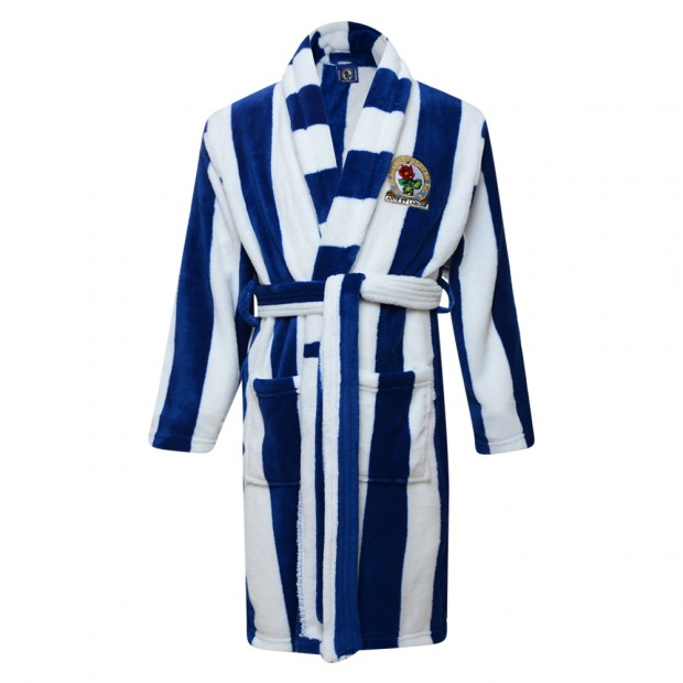 Rovers Kids Stripe Dressing Gown