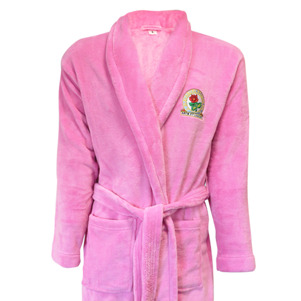 Rovers Ladies Pink Dressing Gown