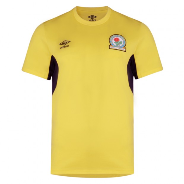 Rovers 17/18 Adult Training T-Shirt (Yellow)